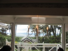 View from the tea house