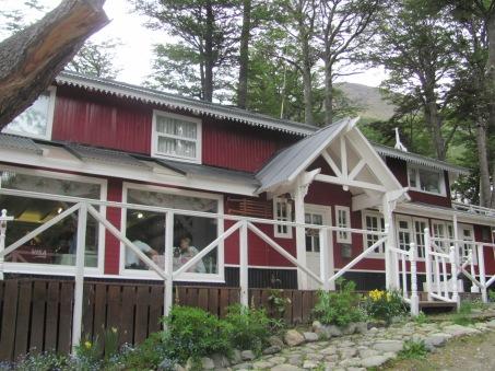 Cabaña tea house